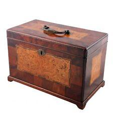 Boxes Pre-1800 Antique Wooden Tea Caddies