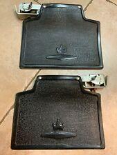 Pair Vintage Automobile Fender Mounting nos Parts