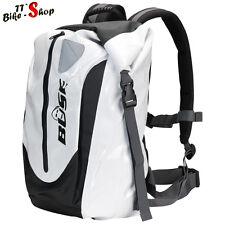 Büse Rucksack für in Weiß, ca. 30 Liter Inhalt, wasserdicht für Motorrad etc.