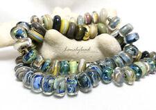LONELYBEAD - Chet handmade 73 lampwork art glass bead SRA - Humble Beads - set