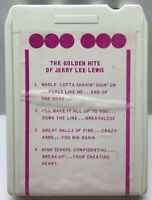 The Golden Hits Of Jerry Lee Lewis 8 Track Cartridge
