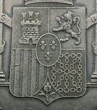 Philippines 1 Peso 1897 SGV. KM#154. .900 Silver Crown coin. Spanish Filipinas