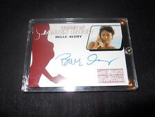James Bond 007 The Living Daylights Autograph Trading Card Belle Avery (Holder)