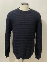 VTG MEGALOS COOGI STYLE SWEATER MENS XXL MADE IN USA 90s HIP HOP RAP BIGGIE