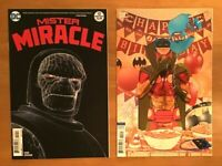Mister Miracle 10 2018 Nick Derington Main Cover + Mitch Gerads Cover B VAR NM+