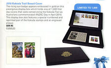 2010 Kokoda Trail Boxed Cover sign by designer Lynette Traynor +Ltd sheet of 500