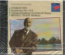 Ives: Sinfonie No 1 & 4, Hymns / Michael Tilson Thomas, Chicago So - CD