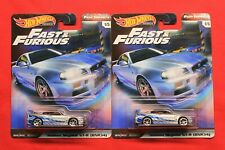 2 Lot Hot Wheels Premium Fast and Furious Nissan Skyline GT-R (BNR34)