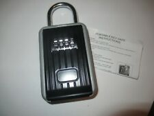 New Listingsteel Metal Portable Lock Box Key Safe Storage With 4 Digit Combination Code
