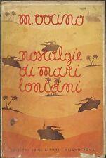 Vocino - Nostalgie di Mari Lontani - Alfieri 1937 - Transatlantici Sud America
