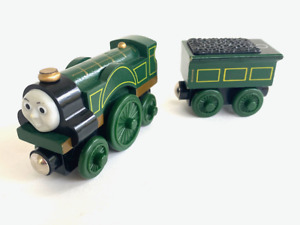 Thomas The Train Tank Engine Wooden Trains Emily and Tender