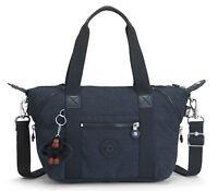 kipling Basic Eyes Wide Open Art Mini Handbag Handtasche True Navy Blau