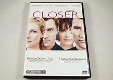 Closer DVD Superbit Julia Roberts, Jude Law, Natalie Portman, Clive Owen