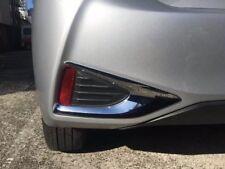 For Toyota Yaris 2017 2018 Facelift Hatch Rear Fog Light Lamp Cover Trim Chrome
