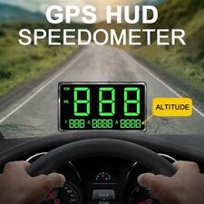 C80 Digital Car GPS Speedometer Speed Display KM/h MPH For Bike Motorcycle Car