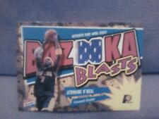 JERMAINE O NEAL 2003 TOPPS BAZOOKA GAME WORN 2 COLOR JERSEY CARD