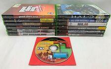 Lot of 13 Original Xbox Games - GTA Vice City, Halo Combat Evolved, Gauntlet