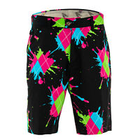 Golf Shorts by Royal and Awesome Haphazard Funky & Loud Waist Size 30 - 44 NEW
