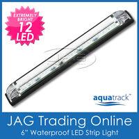 12V 12-LED STRIP LAMP - Interior/Cabin/Boat/Caravan/Exterior/Waterproof Light