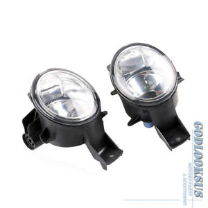 Pair Front Left Right Fog Light Lamp Assembled No Bulb For BMW X6 E71 E72 08-13
