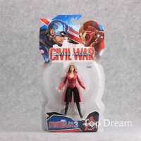 "Scarlet Witch The Avengers Captain America 3 Civil War Action Figure 7"" Toy Doll"