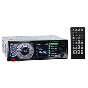 "Soundstream VR-345B Bluetooth Stereo 3.4"" LCD Screen DVD Aux USB Media Receiver"