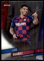 2019-20 Topps Finest UEFA Base #94 Luis Suarez - FC Barcelona