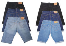"""Levi's Mid 7 to 13"""" Inseam Patternless Shorts for Men"""