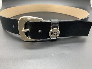 Michael Kors Unisex Black Belt