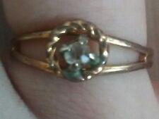 adjustable round diamond styled ring