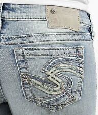 New Silver Womens Jeans Tuesday Silvers 24x33 25x33 26x31 26x33 27x31