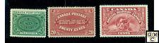Canada Stamps E1,E2,E6  M.L.H. F/VF  catalog value $150
