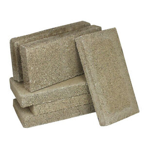 US Stove FireBrick 4.5 x 9 x 1.25 Inch Wood Stove Ceramic Fire Bricks (6 Pack)