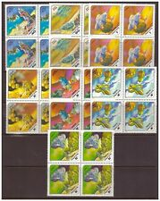 Hungary 1978 space exploration / science fiction in block of 4 MNH**