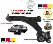Brazo Inferior Wishbone Frontal Izquierdo Suspensión Rótula arbustos para Mazda 3 2004-2008