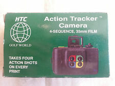 VINTAGE NIP ACTION TRACKER 4-SEQUENCE 35MM CAMERA BY HTC GOLF WORLD
