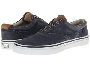 Sperry Striper Laceless Men's Canvas Casual Sneaker Skate Shoes 1048024