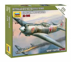 Zvezda Model Kit 6255 Soviet Fighter LA-5FM, scale 1/100