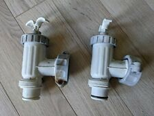 Intex Pool Plunger Valve Shut Off Valve Replaces Used (Includes 2)