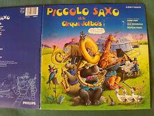 PICCOLO SAXO ET JOLIBOIS de POPP & BROUSSOLLE - DOUBLE LP LIVRE PHILIPS 818 530