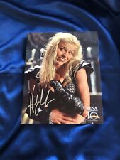 RARE Licensed 8x10 Callisto (Hudson Leick) SIGNED Photo from Xena XE-HL 27