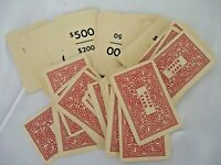 "1955 WHITMAN No. 4720:100 ""THE GAME OF JUNIOR EXECUTIVE"" BOARD GAME ORDER CARDS"