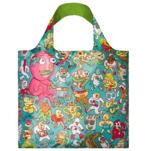 LOQI Tasche ARTISTS Folks BAG Einkaufstasche Falt-Shopper