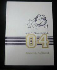 2004 Winston Churchill Middle School Yearbook Carmichael California CA year book