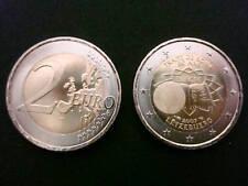 MONETA 2 EURO LUSSEMBURGO 2007 TRATTATI DI ROMA RARA