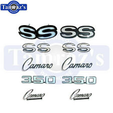 1969 Camaro Super Sport 350 Emblem Kit New