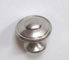 """1 3/16"""" Satin Nickel Kitchen Cabinet Hardware Door Drawer Handle Pull knob K24SN"""