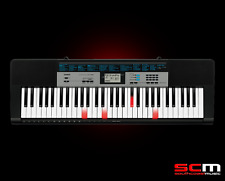 CASIO LK136 Portable Light-Up Digital Keyboard LK-136 + Adaptor 5 Year Warranty!