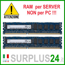 Kit RAM 16GB (2x 8GB) SK HYNIX 1Rx4 PC3-14900R DDR3 1866 MHZ ECC REG SERVER