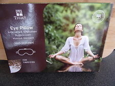 Treets Silk & Flaxseed.Eye Pillow. Perfect for tired eyes. New boxed